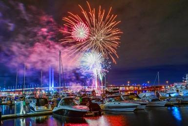 docklands firework